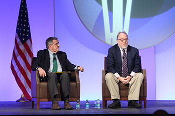 Political Pundits Take the Stage for Final General Session