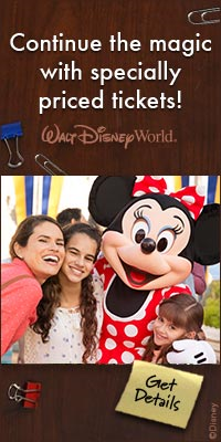 Continue the magic with specially priced tickets! | Walt Disney World | Get Details
