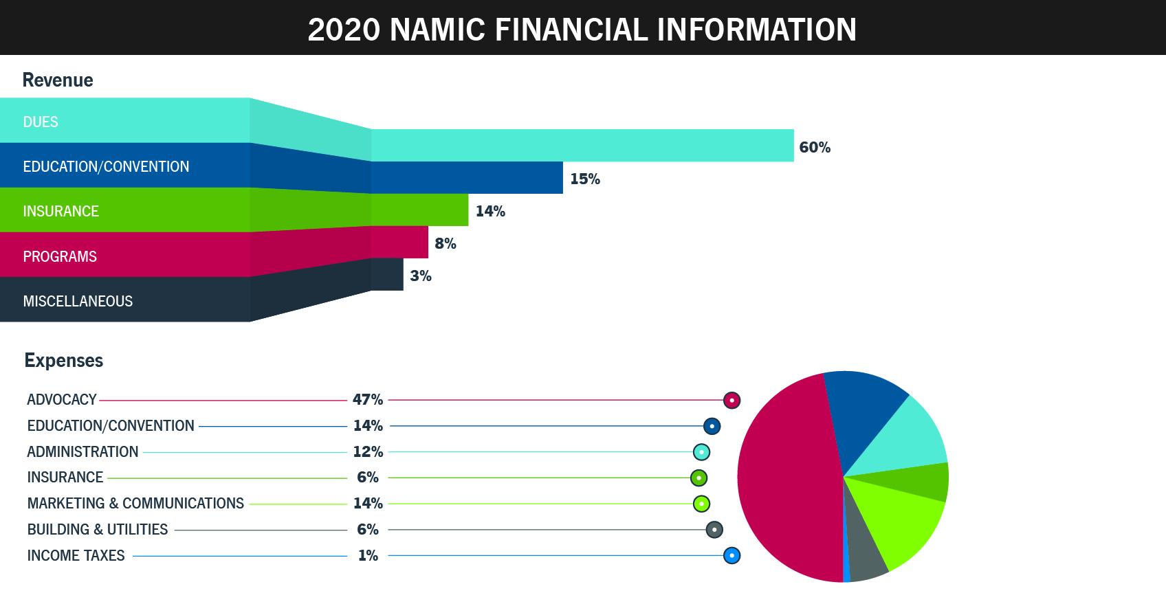 NAMIC 2020 Financial Info
