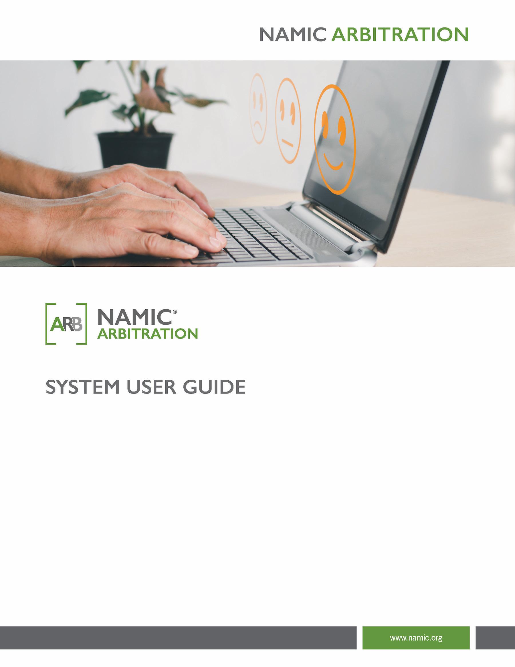 Arbitration System User Guide PDF