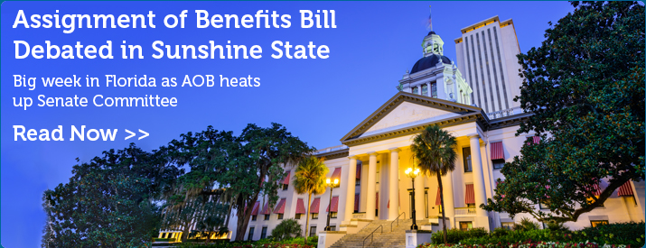 Assignment of Benefits Bill Debated in Sunshine State