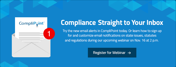 Compliance Straight to Your Inbox